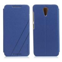 Чехол флип на пластиковой основе серия Colors для HTC Desire 620 Синий
