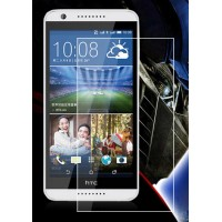 Ультратонкое износоустойчивое сколостойкое олеофобное защитное стекло-пленка для HTC Desire 620