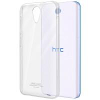 Пластиковый транспарентный чехол для HTC Desire 620