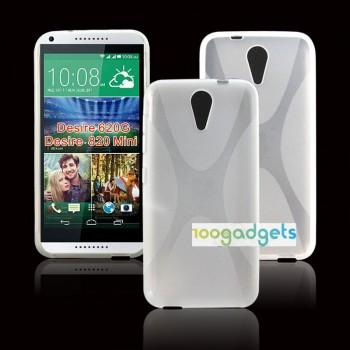 Силиконовый X чехол для HTC Desire 620