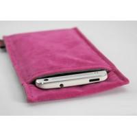 Фланелевый мешок с экстрамягким бархатным покрытием для Yotaphone 2 Пурпурный
