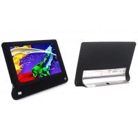Силиконовый софт-тач премиум чехол для Lenovo Yoga Tablet 2 8 Черный