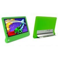 Силиконовый софт-тач премиум чехол для Lenovo Yoga Tablet 2 10 Зеленый