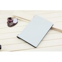 Чехол флип подставка сегментарный на поликарбонатной основе для Lenovo Yoga Tablet 2 10 Белый
