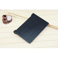 Чехол флип подставка сегментарный на поликарбонатной основе для Lenovo Yoga Tablet 2 8 Черный
