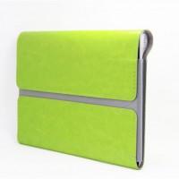Чехол папка с магнитным клапаном для Lenovo Yoga Tablet 2 8 Зеленый