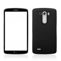 Чехол с точечной текстурой для LG Optimus G3 Черный