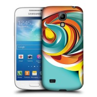 Пластиковый матовый дизайнерский чехол с принтом для Samsung Galaxy S4 Mini!New 29.01.2015