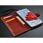 Чехол портмоне с ремешком для LG G Pro 2