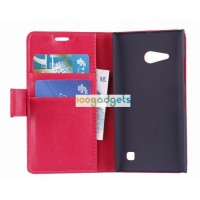 Чехол портмоне подставка с защелкой для Nokia Lumia 730/735