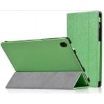 Чехол сегментарный подставка текстурный с рамочной защитой серия Full Cover для Lenovo Tab S8