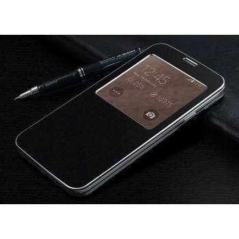 Встраиваемый чехол флип с окном вызова для Samsung Galaxy S5