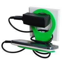 Складная универсальная пластиковая подставка для зарядки гаджетов для Sony Xperia M4 Aqua (E2306, E2353, E2363, E2333, E2312, dual, E2303)