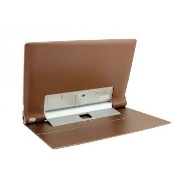 Чехол флип текстурный на поликарбонатной основе для Lenovo Yoga Tablet 2 Pro 13
