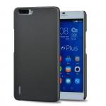 Пластиковый матовый непрозрачный чехол для Huawei Honor 6 Plus
