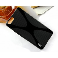 Силиконовый X чехол для Huawei Honor 6 Plus Черный