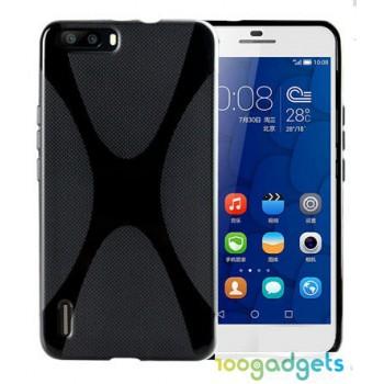Силиконовый X чехол для Huawei Honor 6 Plus