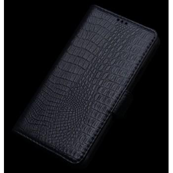 Кожаный чехол портмоне (нат. кожа крокодила) для Lenovo P70