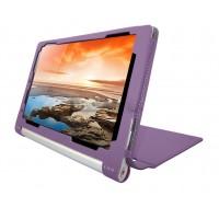 Чехол флип текстурный с рамочной защитой серия Full Cover для Lenovo Yoga Tablet 10 HD+