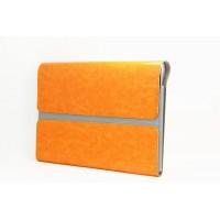 Чехол папка с магнитными клапанами для Lenovo Yoga Tablet 2 10 Оранжевый