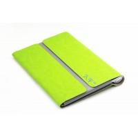 Чехол папка с магнитными клапанами для Lenovo Yoga Tablet 2 10 Зеленый