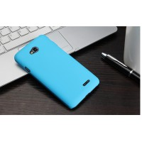 Пластиковый чехол для LG L80 Голубой