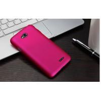 Пластиковый чехол для LG L80 Пурпурный