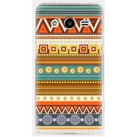 Пластиковый матовый дизайнерский чехол с принтом для Samsung Galaxy Core 2