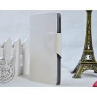 Чехол флип-подставка для LG L80 Белый