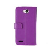 Чехол портмоне-подставка для LG L80 Фиолетовый