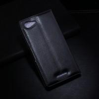 Чехол портмоне подставка с защелкой для Sony Xperia E3 Черный