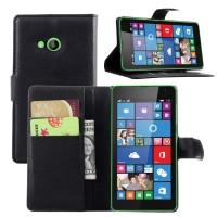 Чехол портмоне подставка с защелкой для Microsoft Lumia 535