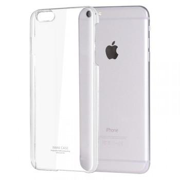 Пластиковый транспарентный чехол для Iphone 6 Plus