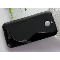 Силиконовый S чехол для HTC Desire 510 Черный
