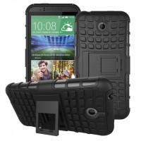 Силиконовый чехол экстрим защита для HTC Desire 510 Черный