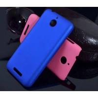 Пластиковый матовый непрозрачный чехол для HTC Desire 510
