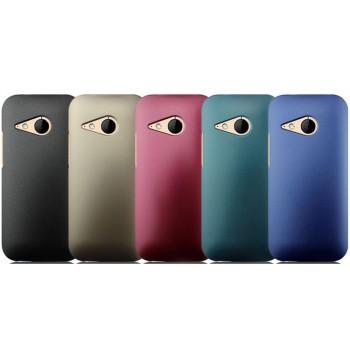 Пластиковый чехол серия Metallic для HTC One mini 2
