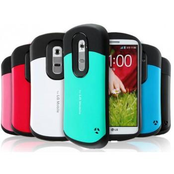 Силиконовый чехол усиленной защиты для LG Optimus G2