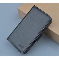 Чехол портмоне подставка с защелкой для Explay Vega Черный