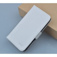 Чехол портмоне подставка с защелкой для Explay Vega Белый