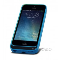Чехол/экстра аккумулятор (2200 мАч) с функцией подставки для Iphone 5s/SE