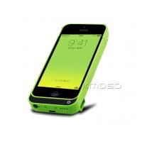 Пластиковый чехол/экстра аккумулятор (4200 мАч) с функцией подставки для Iphone 5s/SE