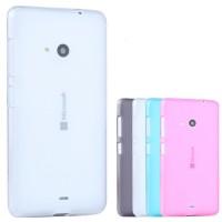 Силиконовый матовый полупрозрачный чехол для Microsoft Lumia 535