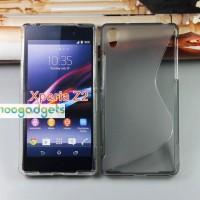 Силиконовый чехол S для Sony Xperia Z2 Серый