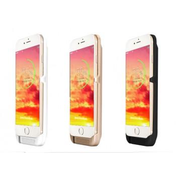 Пластиковый чехол/экстра аккумулятор (6000 мАч) с индикаторами заряда для Iphone 6