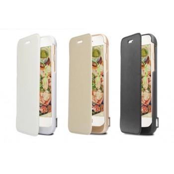 Чехол флип/экстра аккумулятор (5600 мАч) с подставкой и функцией дополнительного заряда внешних устройств для Iphone 6