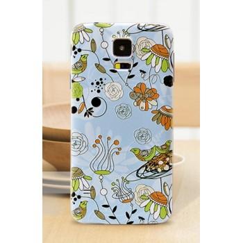 Пластиковый встраиваемый дизайнерский чехол с принтом для Samsung Galaxy S5