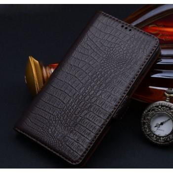 Кожаный чехол портмоне (нат. кожа крокодила) для ZTE Nubia Z7 Mini
