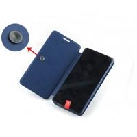 Текстурный чехол флип подставка на присоске для ZTE Nubia Z7 Mini