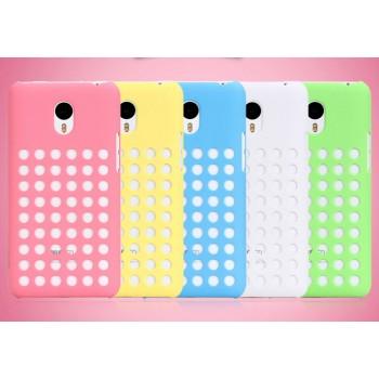 Пластиковый дизайнерский чехол с отверстиями для Meizu M1 Note